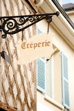 Creperie Royalty Free Stock Photos