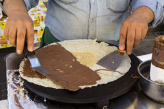 Creperie Stock Photography