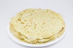 Crepes - французский десерт Стоковое Изображение