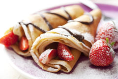 Crepes Foto de Stock Royalty Free