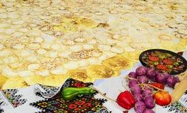 Crepes Imagen de archivo libre de regalías
