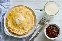 crepes Image stock
