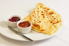 Crepe / Crepes / Pancake / Pancakes 7 Stock Photo