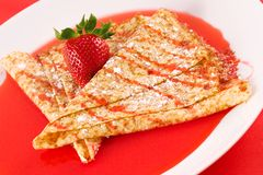 Crepes immagine stock