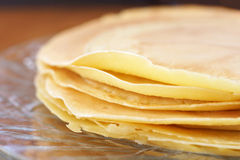 Crepes closeup Stock Image