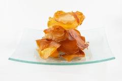 Crepes de la dulce-patata Foto de archivo libre de regalías