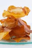 Crepes de la dulce-patata Imagen de archivo libre de regalías