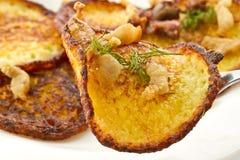 Crepes de patata Fotografía de archivo