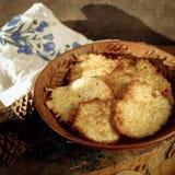 Crepes de patata Fotografía de archivo libre de regalías