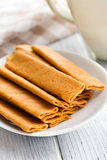 Crepes dentelle Royalty Free Stock Image