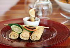 Crepes food Royalty Free Stock Photography
