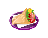 Crepes food Stock Images
