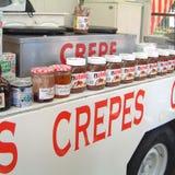 Crepes foodtruck στοκ φωτογραφίες με δικαίωμα ελεύθερης χρήσης