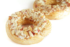 Crepes fritas hechas en casa para el desayuno aislado Imagen de archivo libre de regalías