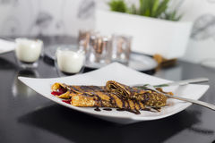 Crepes luxury Royalty Free Stock Images
