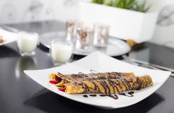 Crepes luxury Royalty Free Stock Photography