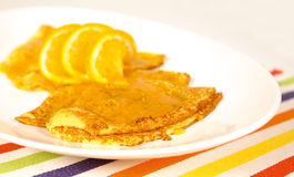 Crepes suzette Stock Photos