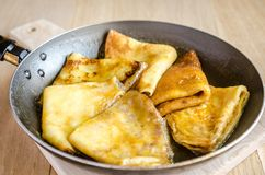 Crepes Suzette Royalty Free Stock Photo