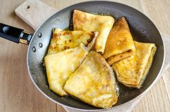 Crepes Suzette Stock Image