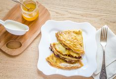 Crepes Suzette Royalty Free Stock Images