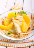 Crepes Suzette Royalty Free Stock Photography