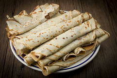 Crepes Royalty Free Stock Photography