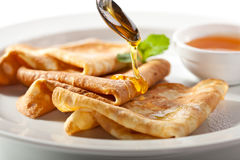 Free Crepes With Honey Royalty Free Stock Photography - 76680977