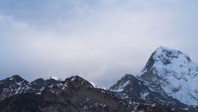 Crepuscolo di Annapurna Fotografia Stock Libera da Diritti