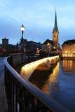 Crepuscolo svizzero fotografia stock libera da diritti