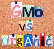 Cresça meus próprios ou orgânico? Fotografia de Stock