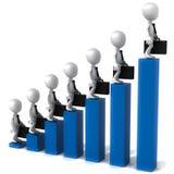Cresça o negócio Foto de Stock Royalty Free