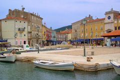 Cres city Stock Photography