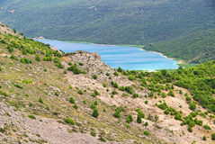 Cres lake Vrana Royalty Free Stock Photography