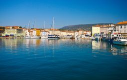 Cres town Stock Photography