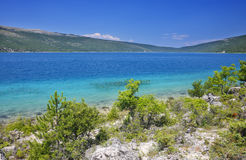 Cres, Vrana jezioro Obrazy Royalty Free