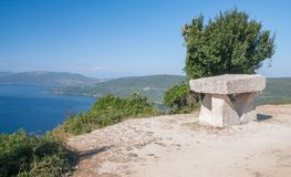 Cres wyspa, Kvarner, Chorwacja zdjęcie royalty free