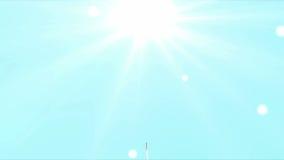 Crescendo acima a árvore animado ilustração royalty free