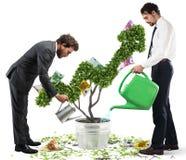 Crescendo a economia Imagens de Stock