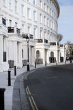 Crescent apartments brighton regency architecture Royalty Free Stock Image