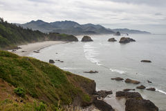 Crescent Bay at Cannon Beach Oregon Coast Royalty Free Stock Images