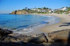 Crescent Bay, het Noordenlaguna beach, Californië royalty-vrije stock afbeelding