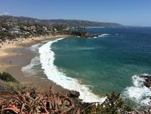 Crescent Bay, Laguna Beach California Foto de archivo