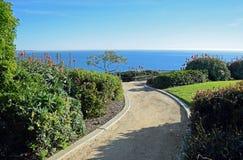 Crescent Bay, Laguna Beach del norte, California imagen de archivo