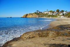 Crescent Bay norr Laguna Beach, Kalifornien Arkivbild