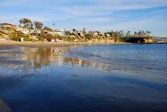 Crescent Bay, North Laguna Beach, California. stock photography