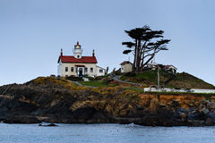 Crescent City, California. Battery Point Lighthouse in Crescent City, California Stock Photos