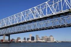 Crescent City Connection - la Nouvelle-Orléans, Louisiane Photo libre de droits