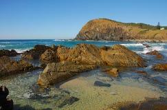 Crescent Head coastline royalty free stock photography