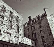 Crescent Hotel eureka springs royalty free stock images
