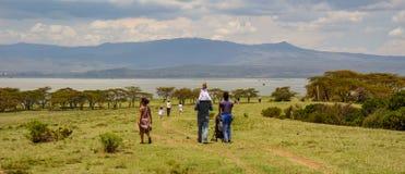 Crescent Island near Nairobi royalty free stock photos